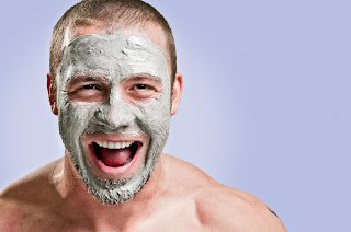 Facial mask for men at home