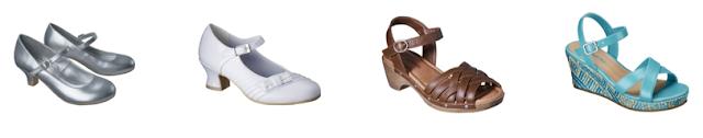 vintage style shoes - flashback summer via lovebirds vintage