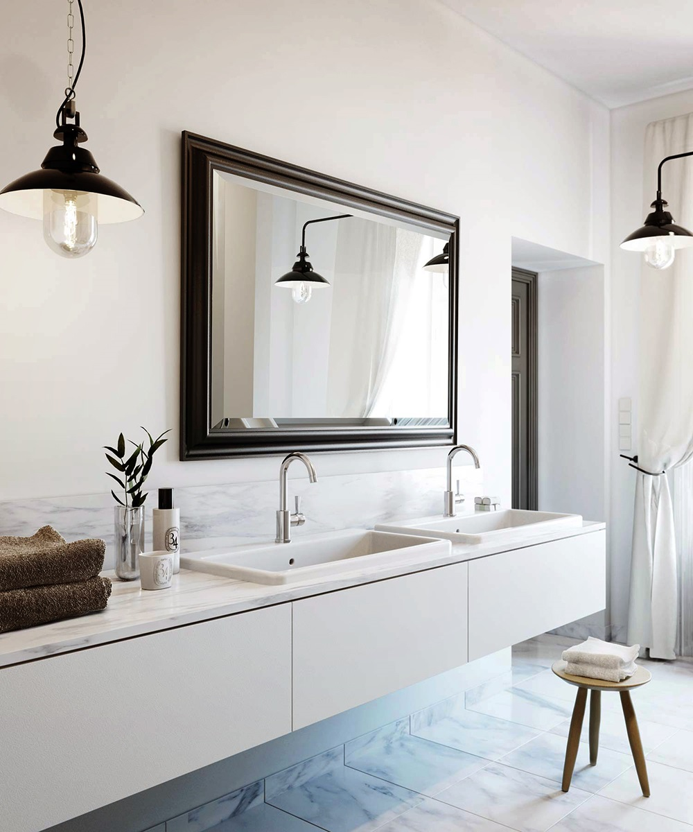 Beautiful The Bathroom Vanity Is A Hub Of Activity  You Can Choose Decorative Lighting