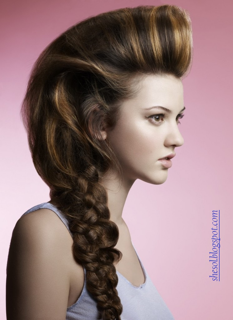 SHE SOL: New Ponytail Hairstyles For 2013