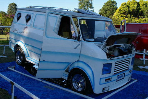 This Custom Show CF Called Innocents Is Known To All The Australian Vanners And Now Its For Sale Im Not 100 Sure But Looking At Painted Mural I