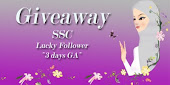 Giveaway : SSC Lucky Follower Mac 2011