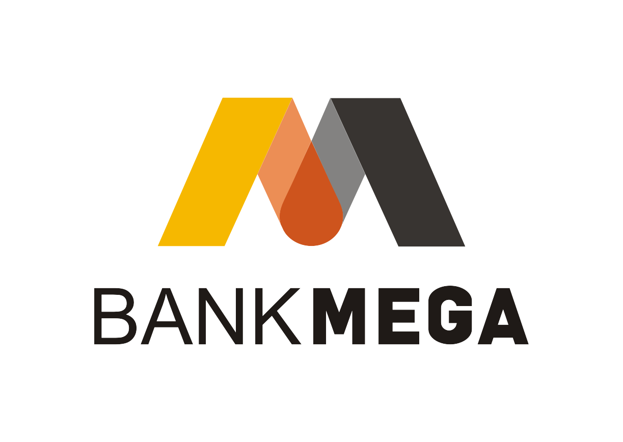 Download Logo Bank Mega Baru Vector