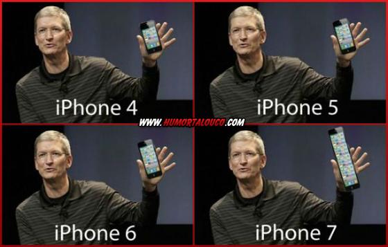 Melhores piadas sobre o iPhone 5 - iPhone Tela - iPhone 4, 5, 6 e 7