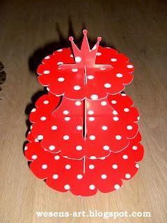DIY Cupcakes Stand.