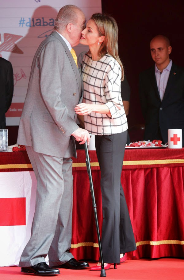 Queen Letizia of Spain participated in the Red Cross' Banderita Day