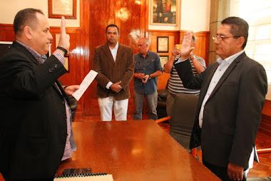 José Yovanny Rojas asumió la dirección de Imdafef