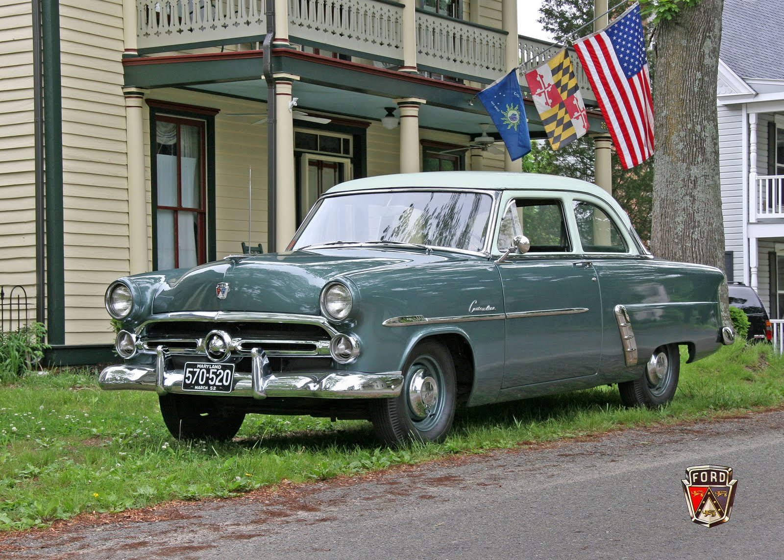 Viral history guest blogger ken briers on his 1952 ford for 1952 ford customline 2 door