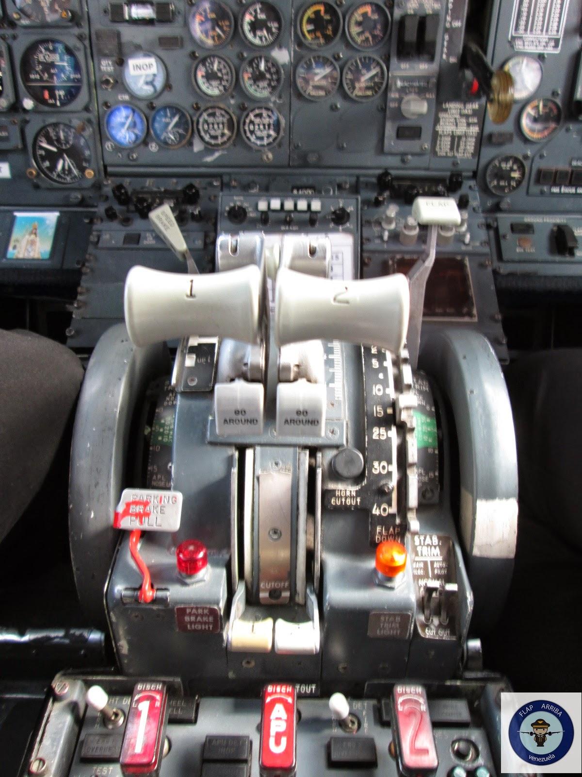 Conjunto de aceleracion 737-200