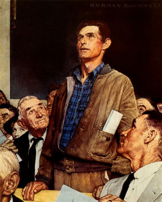 Norman Rockwell is hardly therockwell town