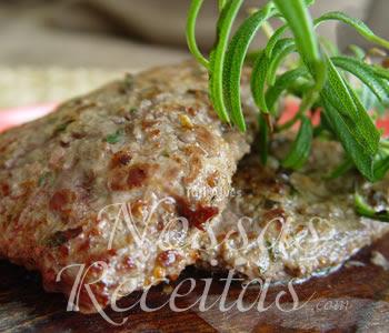 receita deliciosa de bifes preparado com alecrim