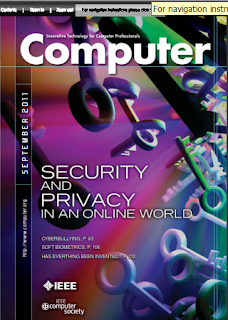 IEEE Magazine: Security and Privary in an Online World, sep2011