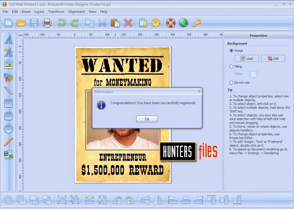 ronyasoft poster designer cd key