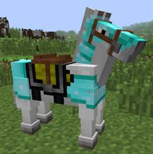 horsewearingarmorminecraftPNG