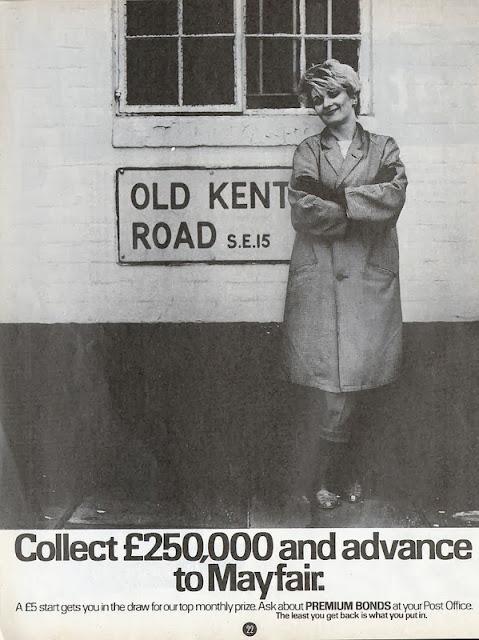Transpontine old kent road 1983 a smash hits advert - Premium bonds post office ...