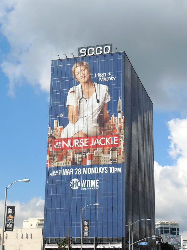 Nurse Jackie High and Mighty billboard