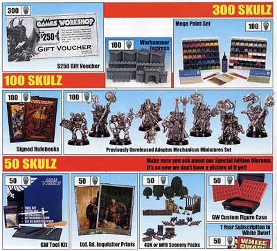 Promoción de Kraneoz la White Dwarf 258 de USA