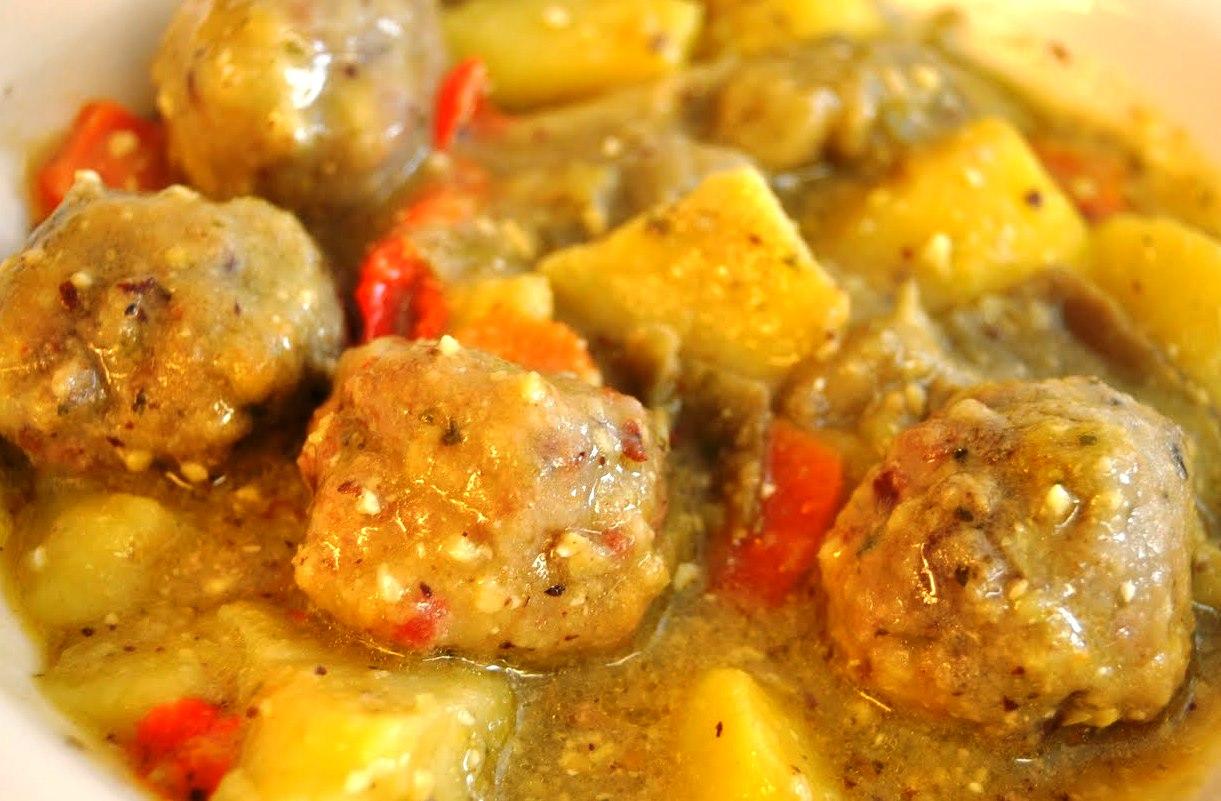 Para un apuro alb ndigas de carne a la canela con verduras - Albondigas con verduras ...