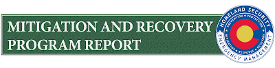 DHSEM Mitigation and Recovery Program Report graphic