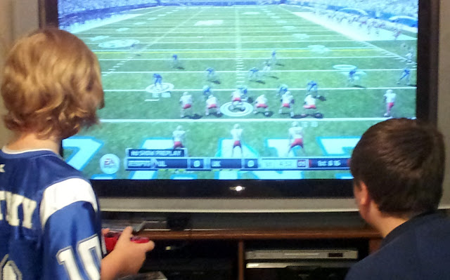 Rural Boys Playing NCAA Football 12