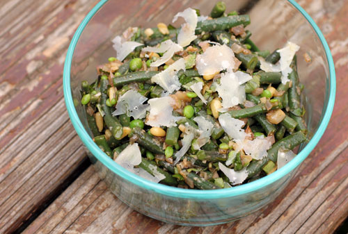 A Less Processed Life: What's On the Side: Green Bean and ...