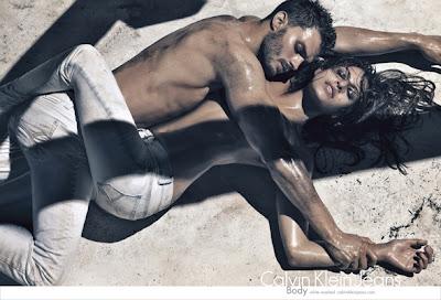 Calvin Klein Eva Mendes Photoshoot