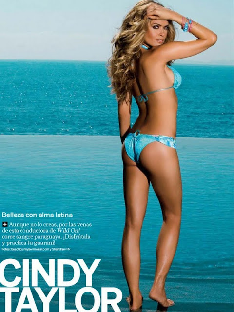 Cindy Taylor   sexy in swimsuit queen