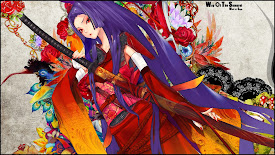 samurai girl anime long katana japanese dress Kimono hd wallpaper