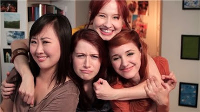 The Lizzie Bennet Diaries: Lizzie, Jane, Lydia and Charlotte