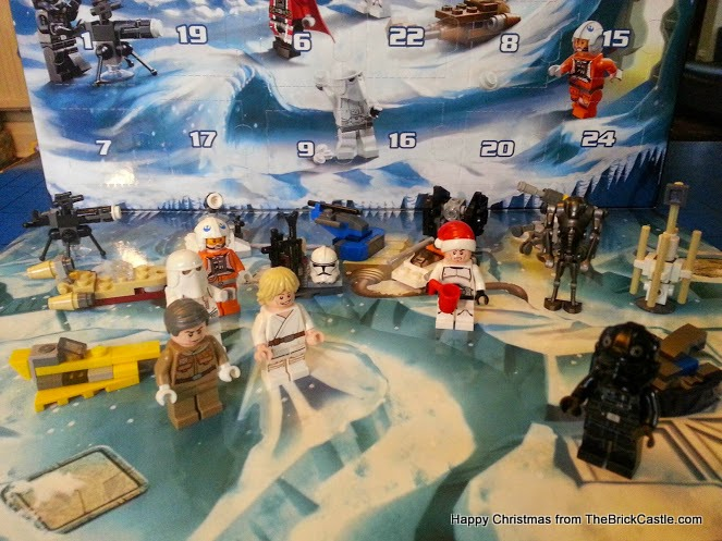 The LEGO Star Wars Advent Calendar Dec 18 scene