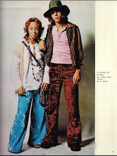 anos 70; moda década de 70, moda  anos 70. história anos 70. Oswaldo Hernandez..