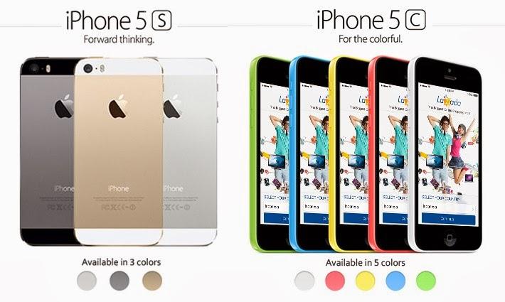Harga iPhone 5s dan 5c Bundling telkomsel, xl, indosat