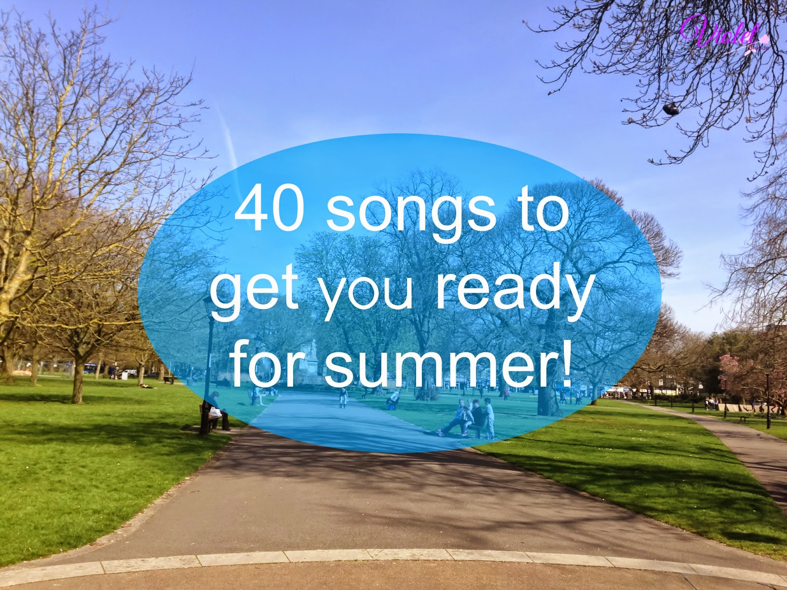 40 summer songs