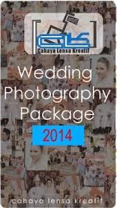 Pakej Fotografi Perkahwinan CLK