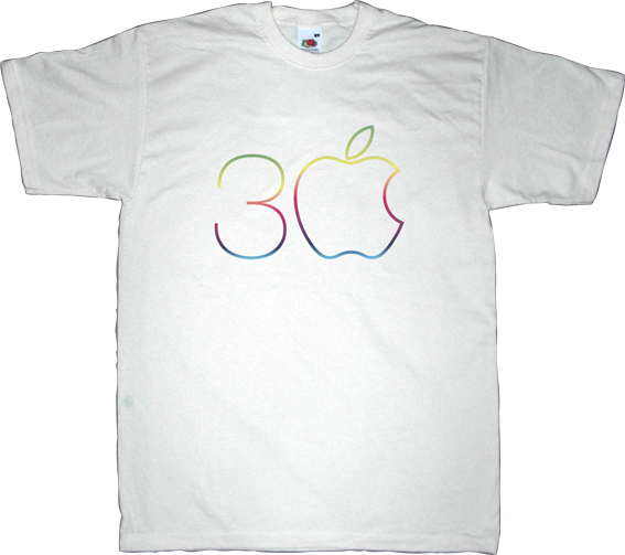 apple macintosh anniversary steve jobs t-shirt ephemeral-t-shirts