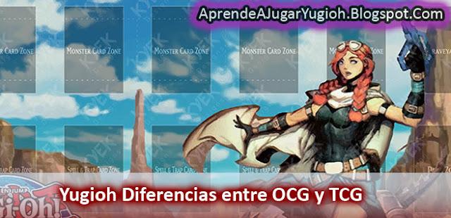 Yugioh Diferencias entre OCG y TCG