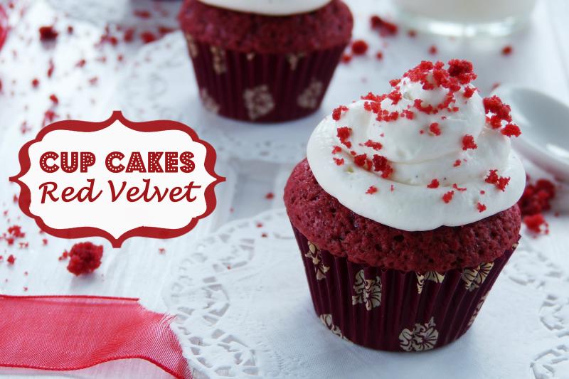 Mini Cup Cakes Red Velvet