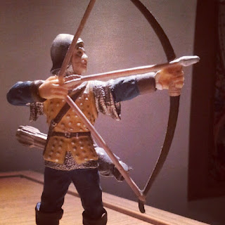 Archer figurine