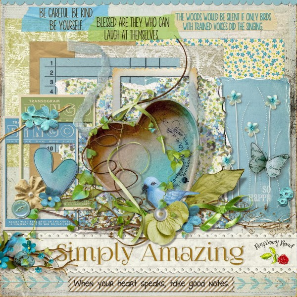 Simply Amazing Scrapbook Kit & Free Mini