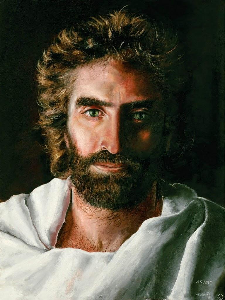Jezus narysowany przez Akiane Kramarik