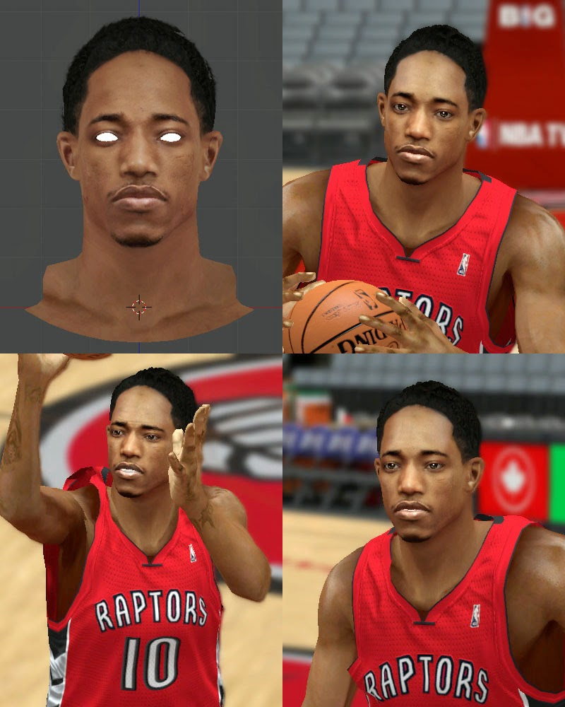 DeMar Derozan Patch 2K14