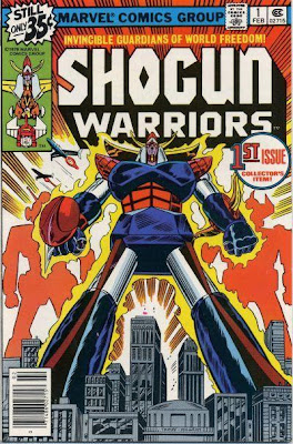 Marvel Comics' Shogun Warriors Comic Book