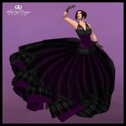 Black Purple Wedding Dresses Newest