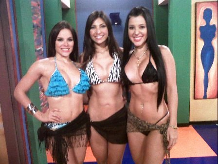 Las chicas de a que te Ries: Jimena Araya (Rosita), Andreína Álvarez