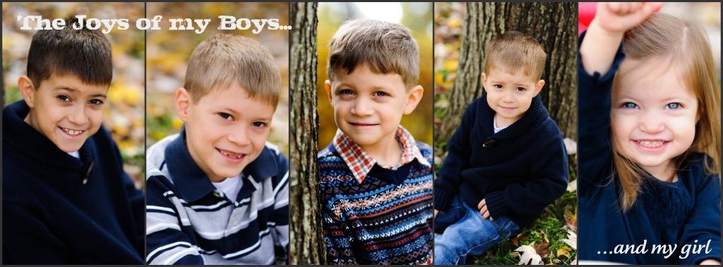 The Joys of my Boys