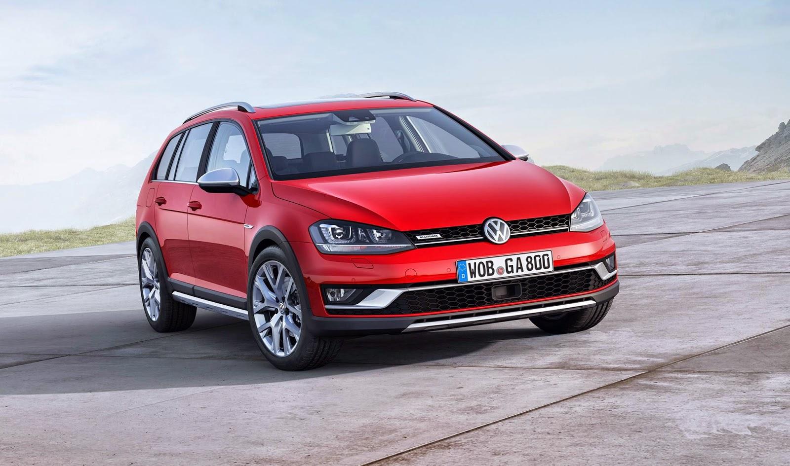 Noul Volkswagen Alltrack