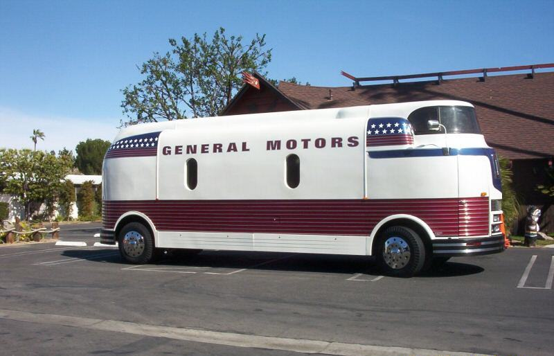 Own a Piece of Rare History 1939 GM Futurliner For Sale