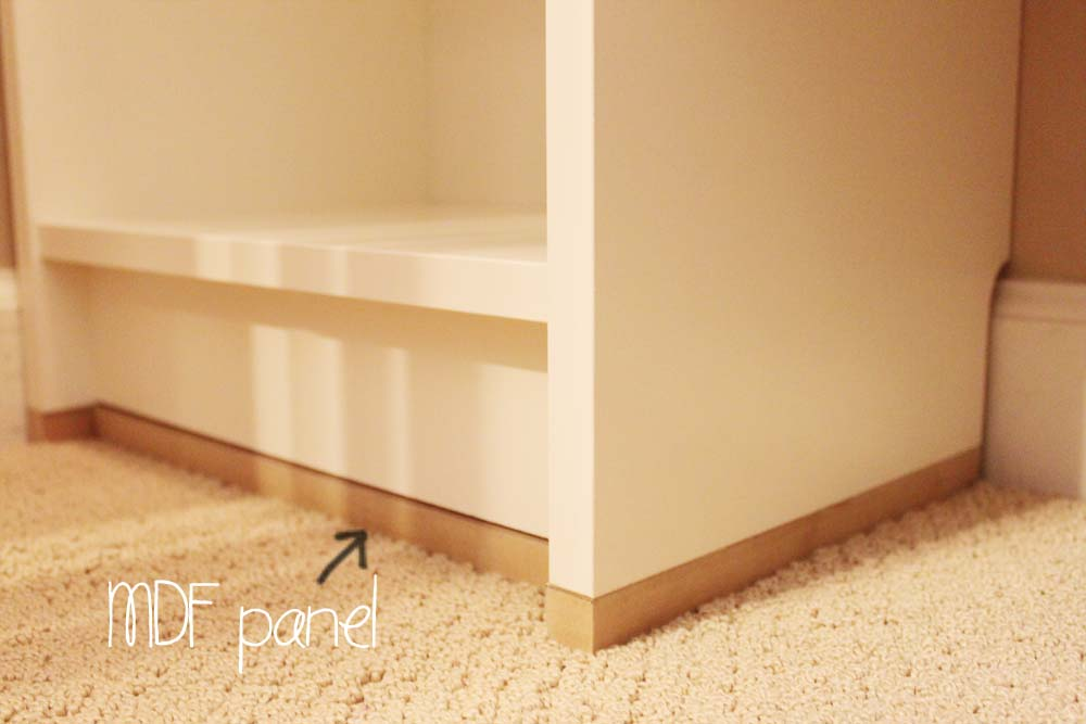 our under 100 closet system u2013 ikea hack