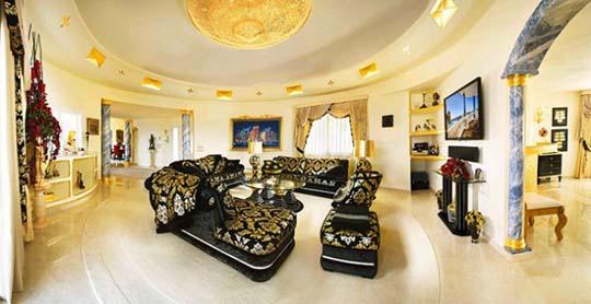Beautiful and luxurious villa colani with golden colour - Villa colani ...