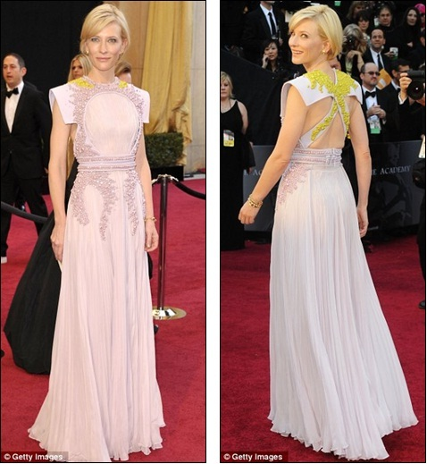 Oscars 2011: Nicole Kidman stands by John Galliano in Christian Dior - but